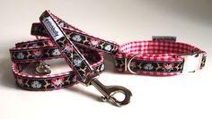Hund: Halsbänder - Halsband und Leine im Set - passend für die Wiesn - ein…