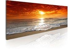 Pintura moderna romántico  puesta del sol 58738 Beach Watercolor, Watercolor Landscape, Landscape Paintings, Beautiful Eyes Pics, Multi Canvas Art, A Level Art Sketchbook, Easy Canvas Painting, Wave Art, Photo Art