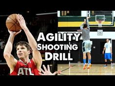 Agility Shooting Drill for Basketball: Tight Circles - YouTube