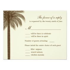 >>>Cheap Price Guarantee          	Palm Beach Wedding RSVP/Response Cards - Brown Announcement           	Palm Beach Wedding RSVP/Response Cards - Brown Announcement today price drop and special promotion. Get The best buyDeals          	Palm Beach Wedding RSVP/Response Cards - Brown Announcem...Cleck Hot Deals >>> http://www.zazzle.com/palm_beach_wedding_rsvp_response_cards_brown_invitation-161952270455705303?rf=238627982471231924&zbar=1&tc=terrest