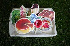 食物貼紙營養補充包8入 第二彈 - 設計師 冰菓室 - Pinkoi