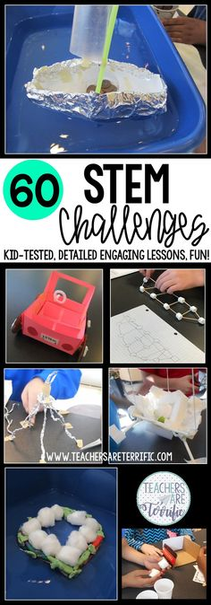 STEM Challenges designed for kids in the elementary classroom. This resource contains 60 STEM challenges! The detailed lesson plans and projects are hands-on and engaging for your upper elementary students. Your kids will have so many opportunities to design and build structures. Each involves problem-solving and improving the structures. The Engineering Design Process is featured in each challenge using lab sheets and editable forms! This money-saving bundle is perfect for your STEM…