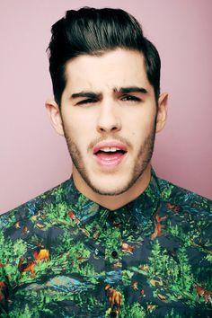 Mens Abstract Floral Print Shirt | Mens Fashion Design