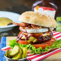 Western Barbecue Burgers