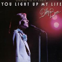 You Light Up My Life, by Debby Boone.  The greatest and most God Awful one hit wonder of all time.  It seems like this was somewhere on the radio every minute of every day from 1977 until 1980. Best Memories, My Childhood Memories, My Past, Pat Boone, Debby Boone, Album Covers, Music Covers, Love Songs, Bad Songs