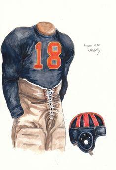 1932 Auburn uniform
