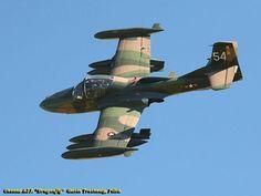 "Cessna A37 Dragonfly aka ""Tweet"" attack a/c."