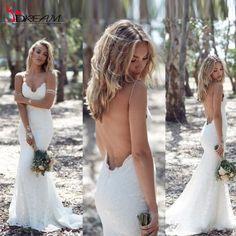 Encontrar Más Vestidos de Novia Información acerca de Katie May 2016 primavera verano bohemio vestidos Sexy…