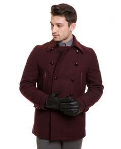 Karaca Erkek Kaban - Bordo #mensfashion  #outerwear #kaban #karaca #ciftgeyikkaraca www.karaca.com.tr