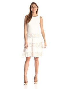 f0854b46cb1 Jump Womens Short Sleeve Glitter Slinky TShirt Dress BlackGold Small ***  Learn more by