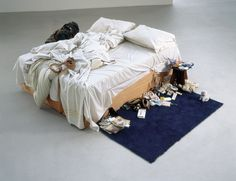 TRACEY EMIN EXHIBITED AT THE SAATCHI GALLERY