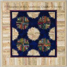 The Quilt Index Miniature Quilt 12.5 x 12.5 Jane Hall 2005