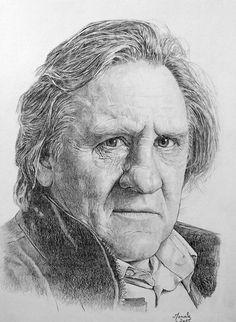 Gérard Depardieu by Manvale