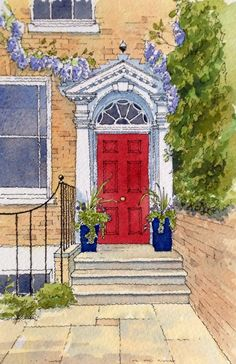 Red Summer Door - John Edwards