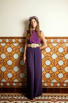 Gli Arcani Supremi (Vox clamantis in deserto - Gothian): Resort 2019 fashion trends and street style Wedding Guest Style, Cocktail Outfit, Pantalon Large, Mature Fashion, Mom Dress, Pants For Women, Clothes For Women, Look Chic, Office Outfits