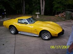 1976 Corvette Stingray with Side-Pipes