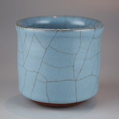 Sake cup by National Living Treasure of Japan, Hiroshi NAKAJIMA (1941~)  #ceramics #pottery