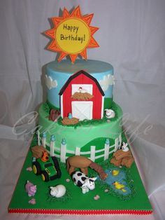 Image detail for -Farm Birthday Cake | Cake Is Life