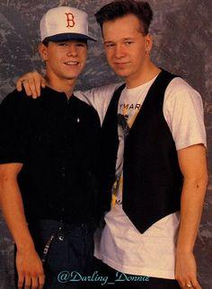 Mark & Donnie Wahlberg