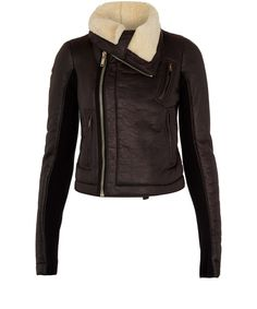 A Rick Owens leather jacket is a must have for any slick urban wardrobe from Liberty.co.uk