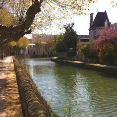 Montargis - the Venice of the Gattenais.