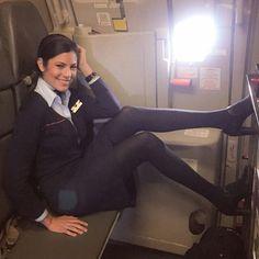 JetBlue Stewardess @brhitney