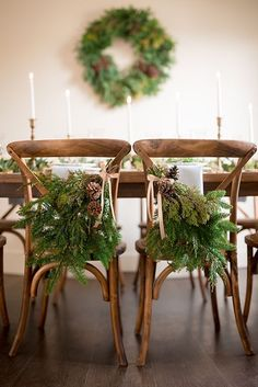 Winter Chic – Intimate Holiday Wedding with Cozy Neutrals - Christmas - Wedding Wedding Chair Signs, Wedding Chairs, Winter Chic, Wedding Reception Backdrop, Wedding Shoot, Holiday Wedding Inspiration, Today Holiday, Custom Cake Toppers, Neutral