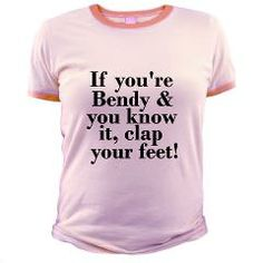If You're Bendy And You Know It EDS Awareness T-Shirt > Ehlers-Danlos Syndrome Awareness #hypermobility