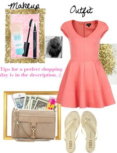 """""""Tips for the perfect Shopping day"""" by saema ❤ liked on Polyvore"""