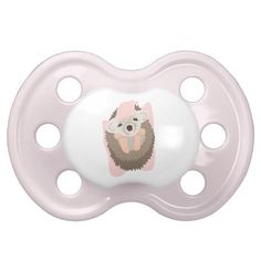 Baby Girl Hedgehog Pacifier