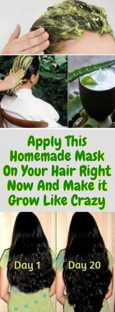 Apply This Homemade Mask On Your Hair Right Now And Make it Grow Like Crazy