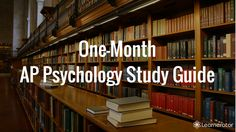 One-Month AP Psychology Study Guide