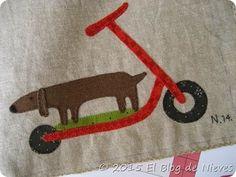 Red Home Applique quilt, Natalie Bird Patchwork Quilting applique