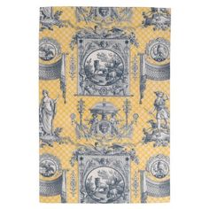 Shop Blue & Yellow French Neoclassical Toile iPad Sleeve created by KittensandWhiskey. Country Kitchen Designs, French Country Kitchens, French Country House, French Country Decorating, Country Bathrooms, French Kitchen, Shabby Chic Bedrooms, Ipad Sleeve, Blue Yellow