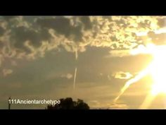 """Strange sounds (like a shofar) heard all over the world in recent years -- """"SOUND of HARP WEAPON IN ACTION !!!  SCARY Lights & Noise!! 2011"""""""