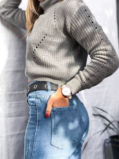 Turtle Neck, Sweaters, Outfits, Fashion, Tights, Trends, Moda, Suits, Fashion Styles