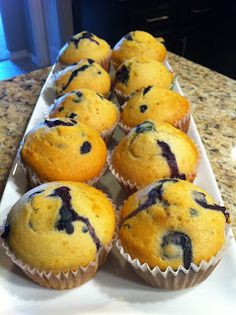 Niki Cooks for Interstitial Cystitis: Blueberry Muffins