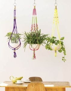 Craft Queen: Make This Rad Macrame Plant Hanger And Look Super Skilled | Crafty | Blog