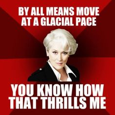"""The Devil Wears Prada. Love this movie. """"That's all"""""""