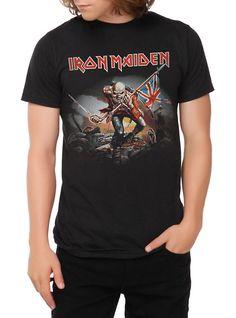 Iron Maiden The Trooper T-Shirt, BLACK