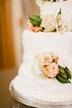 Portland Temple Wedding captured by film photographer Erich Mcvey. Wedding Cake Roses, Wedding Reception Flowers, Beautiful Wedding Cakes, Rose Wedding, Green Wedding, Exotic Wedding, Wedding Bells, Fall Wedding, Cute Wedding Ideas