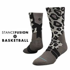 Stance | Carnivora Grip Black, Gray socks | Buy at the Official website Stance.com.