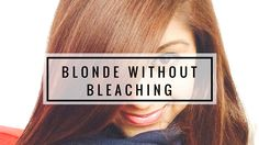 Black To Blonde Without Bleaching?! xD