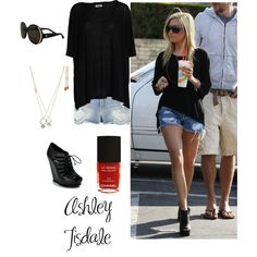 Ashley Tisdale Style, created by aliciasdesigner on Polyvore