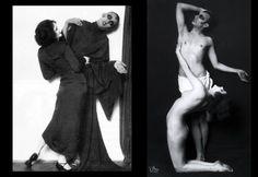 Madame d'Ora | The dancer Anita Berber , Sebastian Droste (Suicide, 1922). Πηγή: www.lifo.gr