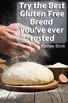 Easy Gluten Free Bread Recipe Book Easy Gluten Free Bread Recipes that you can make at home today! Take a look at this exciting Easy 'Gluten Free Keto Bread Recipe Book'! Gluten Free Bread Recipe Easy, Bread Recipe Book, Easy Bread Recipes, Gluten Free Baking, Gluton Free Bread Recipes, Best Low Carb Bread, Lowest Carb Bread Recipe, Low Carb Diets, Yeast Free Breads
