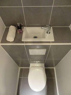 Un Lave-mains sur la chasse d'eau Do you lack space to install a washbasin in your toilet?