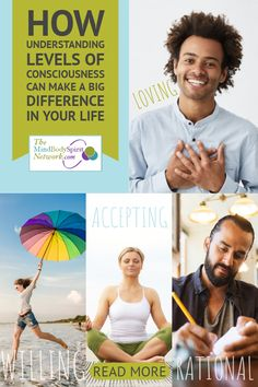 How Understanding Levels of Consciousness & Make a Difference in Your Life Levels Of Consciousness, Make A Difference, Mind Body Spirit, Spiritual Growth, Albert Einstein, Higher Education, Your Life, Awakening, Feelings