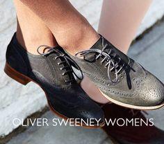 The Women's Brogue! Oliver Sweeney™