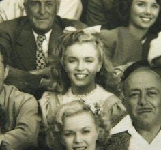 Today (June is Marilyn Monroe's birthday! She and Natalie both appeared in Scudda Hoo! Marilyn can be seen here in a pair of photos from the production. Marylin Monroe, Young Marilyn Monroe, Marilyn Monroe Photos, Viejo Hollywood, Old Hollywood, Hollywood Actresses, Rita Hayworth, Stars D'hollywood, Norma Jeane